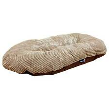 Ancol Timberwolf Faux Suede Cushion Pet Bed - 75 x 55cm