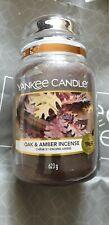 Yankee Candle Oak and Amber incense vhtf halloween?