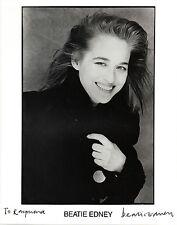 ENGLISH ACTRESS BEATIE EDNEY HANDSIGNED 10 x 8 B&W PHOTOGRAPH