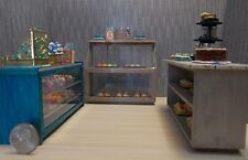 Dollhouse Miniature Faux Marble Pastry Shop Counter Set 1:12 G70 Dollys Gallery