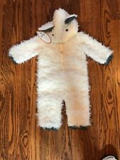 NWT Pottery Barn Kids Baby Knit Lamb Halloween Costume 6-12 Months NWT