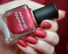"Deborah Lippmann Silk Matte Nail Polish ""Red Silk Boxers"" Limited Edition .5 oz"