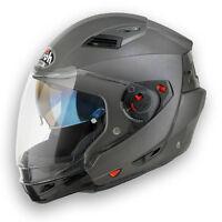 CASCO AIROH EXECUTIVE CASQUE HELMET MOTO SCOOTER MODULARE P/J VARI COLORI EX29