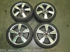JDM 08-12 Subaru WRX STI GRB GVB OEM Wheels 5X114.3 Rims 18X8.5 +55offset, SG9