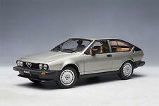 1/18 Autoart - ALFA ROMEO Alfetta 2.0 GTV 1980 -argento Argento