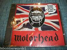 MOTORHEAD - GOD SAVE THE QUEEN - CD SEALED - 2 TRACKS + VIDEO - METAL