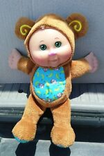 """Cabbage Patch Kids Snugglies Brown Bear 8"""" Doll"""