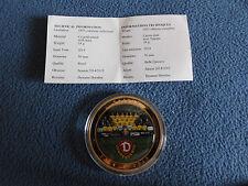 Münze Medaille SG Dynamo Dresden Gigant 50 mm 54 g Saison Mannschaft 2014/15