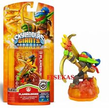 Skylanders Giants FLAMESLINGER Figure Card Sticker Web Code 2012 NEW