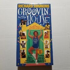 Richard Simmons Groovin' In The House VHS Tape 1998 Goodtimes Video  NEW SEALED