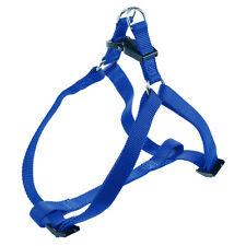 Pettorina in nylon blu per cani di taglia medio-piccola