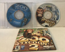 Zoo Tycoon DISC 1 ONLY  And  Zoo Tycoon 2