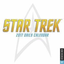 Star Trek Daily Day-To-Day 2017 Desk Box Calendar by CBS