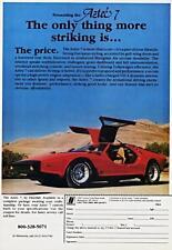 Old Print.  Red 1980 Fiberfab Aztec 7 Auto Ad