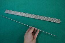"""4mm Dia Titanium 6al-4v Round Bar .157"""" x 20"""" Ti Gr.5 Alloy grade 5 rod 20pcs"""