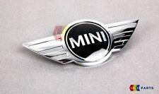 MINI Nuovo Originale R50 R52 Mini Cooper EMBLEM BADGE COFANO CROMATO 7026184