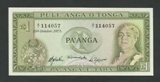 Tonga T$1 1971 P14d Uncirculated World Paper Money