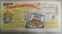 Kellogg's Cereal Ad: Tattoo Transfer and Spoon From 1949 Size: 7.5 x 15 inches