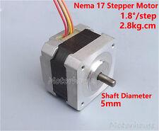 NEMA 17 2-phase 4-wire Stepper motor  5mm Pulley CNC RepRap Prusa 3D Printer
