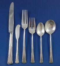 Greenbrier by Gorham Sterling Silver Flatware Set For 8 Service Dinner Size