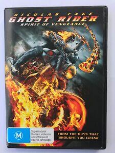 Ghost Rider Spirt of Vengeance (2011, Region 4 DVD, Nicolas Cage)