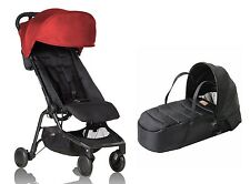 Mountain Buggy Nano Stroller and Cocoon In Ruby Brand New!!