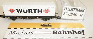 Würth Container Load Car Fleischmann 87 8240 New 1:160 N HR5 Μ