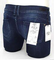 LE TEMPS DES CERISES jeans PULP Stretch slim fit femme blue black JFPULPOOWC462