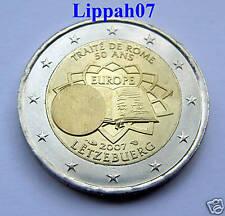 Luxemburg 2 euro Verdrag van Rome 2007 UNC