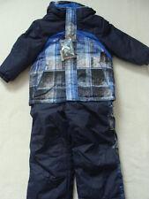 NWT Boys Zero XPosur Snowsuit S 4 Winter Jacket Coat Bibs Pants Snow Suit Blue