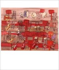 Raoul DUFY - Lithographie - MOURLOT 1965 - L'Orchestre - 30x24 cm