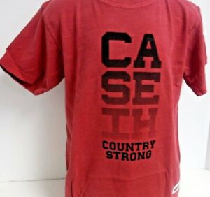 Case IH Country Strong Short Sleeve Crimson Youth Tee