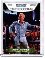 TNA Jeff Jarrett #65 2012 Reflexxions GOLD Parallel Card SN 4 of 10
