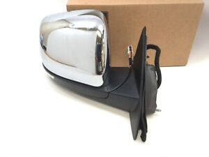 14-21 Jeep Grand Cherokee power fold passenger right Side View Mirror chrome OEM