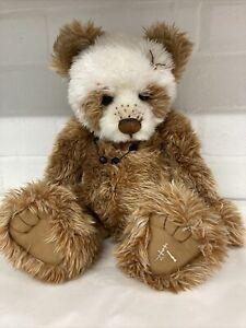 Charlie Bears Hot Cross Bun Limited Edition 3263 Of 4000