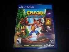 Replacement Case (No Game) Crash Bandicoot N Sane Trilogy PlayStation 4 Ps4 Box