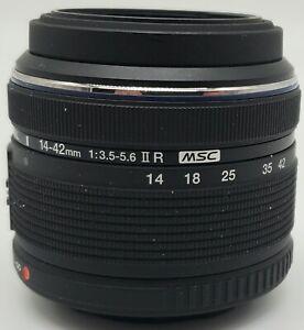 Black Olympus M.Zuiko Digital 14-42mm f/3.5-5.6 II R MSC