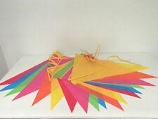 Guirlandes et bannières de fête multicolores sans marque pour la maison