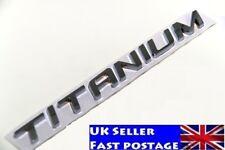New TITANIUM Decal Emblem Badge Metal Sticker For Car Ford Kuga Escape Focus