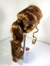 Monique Collection Doll Wig 'Jeannie' Ponytail Auburn Brown Blonde 8-9, 14-15