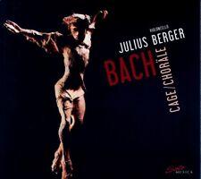 JULIUS  BERGER - CAGE: BACH CHORÄLE (JOHANN SEBASTIAN BACH/JOHN CAGE) 3 CD NEUF