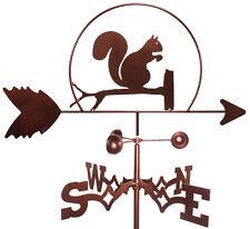 Squirrel Weathervane With Garden Mounting