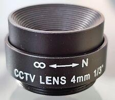 Waiston CCTV Camera 4.0mm CS C Mount Lens Fixed Iris F1.2 AU Stock NOS
