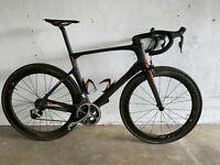 2016 Scott Foil 20 Premium L/56cm Dura-Ace Di2 ZIPP 404 Carbon Road Bike