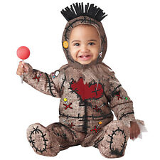 Baby Toddler Voodoo Doll Costume Kids Halloween Fancy Dress Witch Doctor
