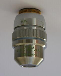 Leitz Phase Microscope Objective NPL FLUOTAR L 40/0.60 PHACO 2 160/0.6-1.6