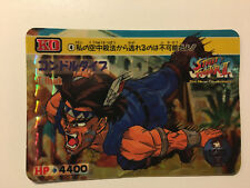Super Street Fighter II [KO] Carddass Prism 4