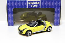 1:18 Kyosho Smart Roadster yellow NEW bei PREMIUM-MODELCARS