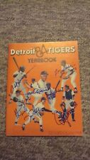 Morris, Whitaker, Lemon AUTOGRAPHED VINTAGE 1984 DETROIT TIGERS Yearbook SIGNED