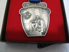 Boy Scouts of America Lincoln Trail Pin Medal